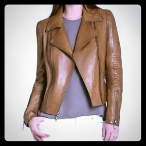 BCBGMAXAZRIA Tara Moto Jacket